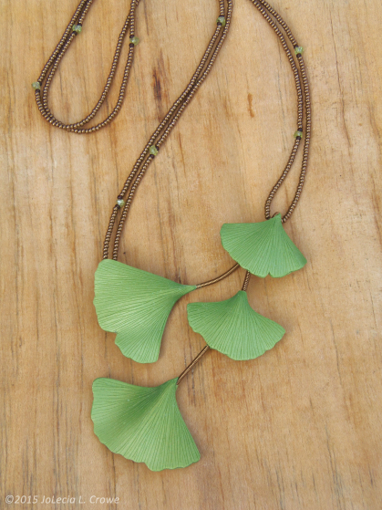 Spring ginkgo series - large leaves