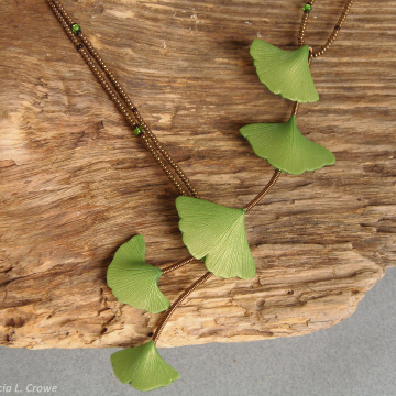Spring ginko series - small leaves