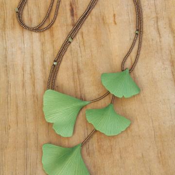 Spring ginkgo series - large leaves